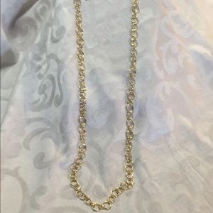 COPY - 💜 Cookie Lee gold links long necklace